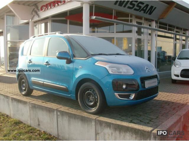 2012 citroen c3 picasso c3 picasso vti 95 tendance car photo and specs. Black Bedroom Furniture Sets. Home Design Ideas