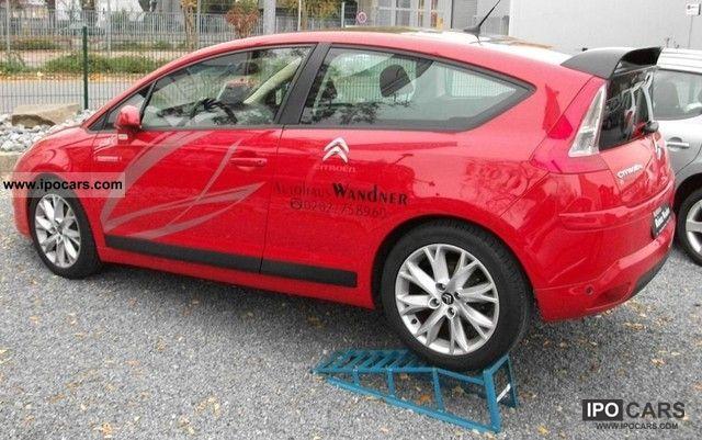 2010 citroen c4 coupe vti 120 sport package tendance air car photo and specs. Black Bedroom Furniture Sets. Home Design Ideas