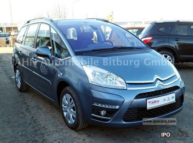 2011 citroen grand c4 picasso vti 120 tendance 7 seater car photo and specs. Black Bedroom Furniture Sets. Home Design Ideas