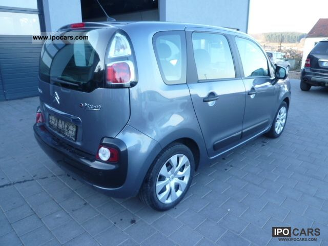 2009 citroen c3 picasso hdi 110 fap car photo and specs. Black Bedroom Furniture Sets. Home Design Ideas