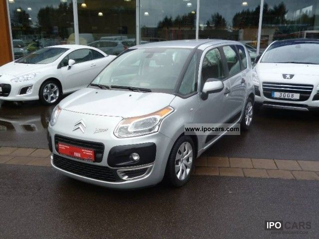 2009 citroen c3 picasso hdi fap 110 tendance car photo and specs. Black Bedroom Furniture Sets. Home Design Ideas