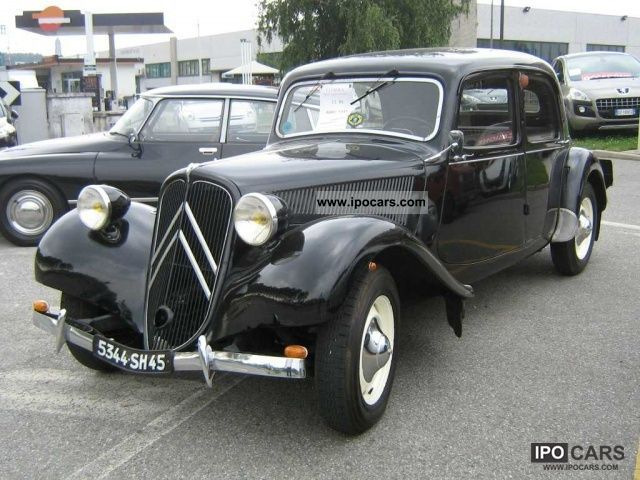 Citroen  2CV TRACTION AVANT 9.1 1952 Vintage, Classic and Old Cars photo