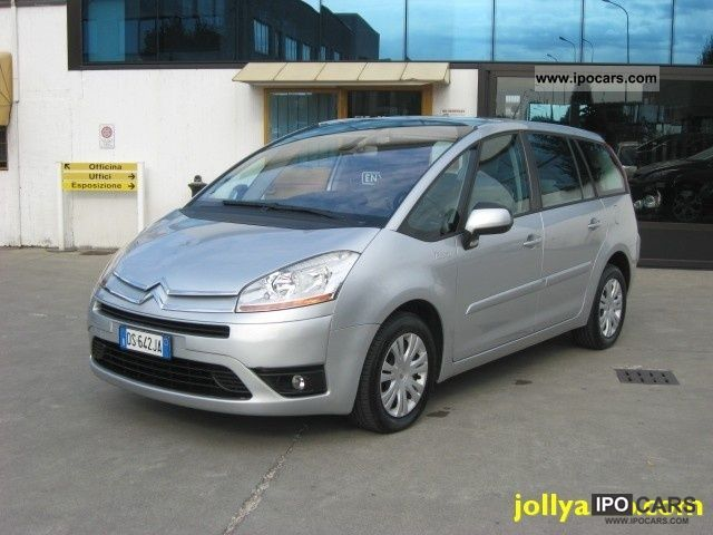 2008 citroen c4 gr picasso 2 0 hdi 138 fap eleg cmp 6 car photo and specs. Black Bedroom Furniture Sets. Home Design Ideas