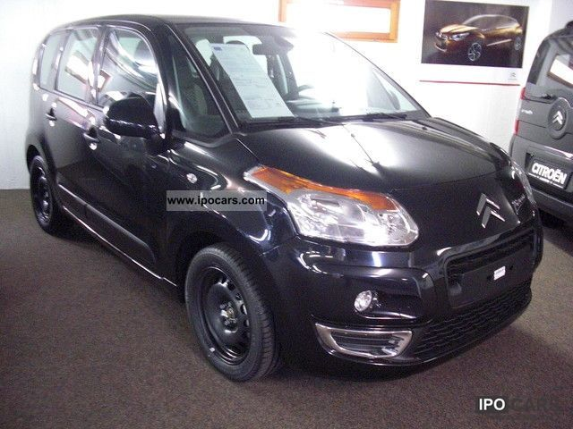 2011 citroen c3 picasso hdi 90 tendance climate control car photo and specs. Black Bedroom Furniture Sets. Home Design Ideas