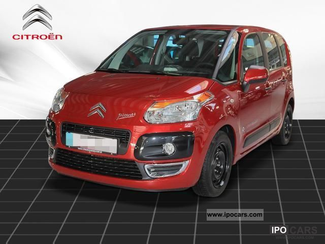 2012 citroen c3 picasso vti 120 tendance climate cruise control car photo and specs. Black Bedroom Furniture Sets. Home Design Ideas