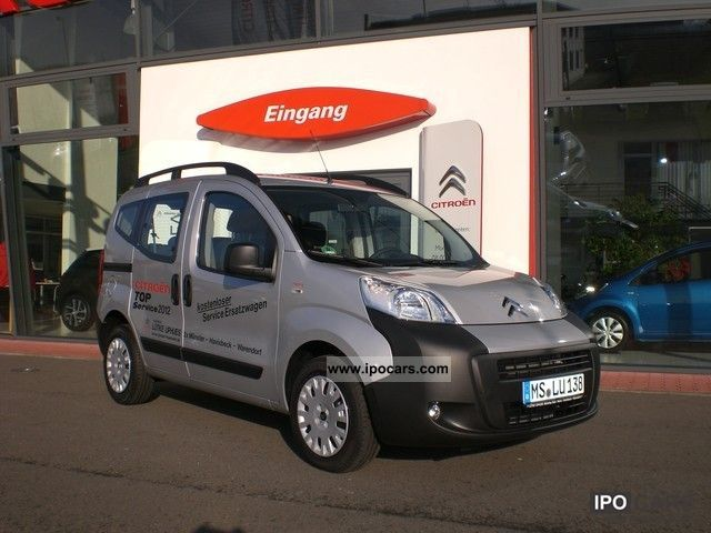 2012 Citroen  NEMO HDI 75 MULTISPACE Van / Minibus Demonstration Vehicle photo