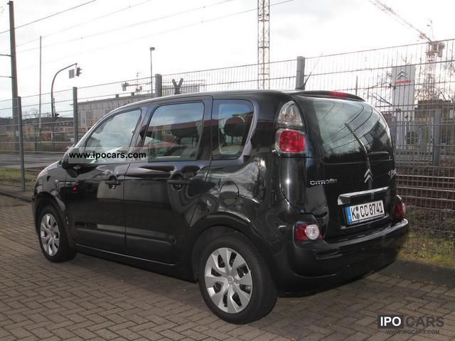 2011 citroen c3 picasso hdi 110 tendance climate car photo and specs. Black Bedroom Furniture Sets. Home Design Ideas
