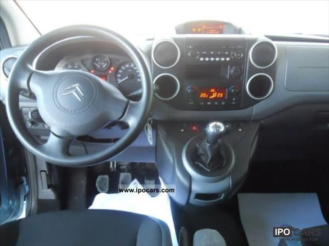 2010 citroen berlingo ii 1 6 hdi92 xtr 5p car photo and specs. Black Bedroom Furniture Sets. Home Design Ideas