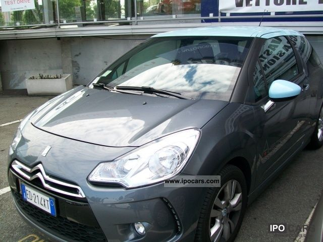 2010 citroen ds3 1 4 vti 95 chic car photo and specs. Black Bedroom Furniture Sets. Home Design Ideas