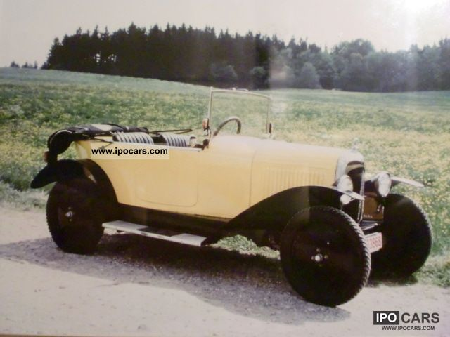Citroen  C3 Trefle 1923 Vintage, Classic and Old Cars photo