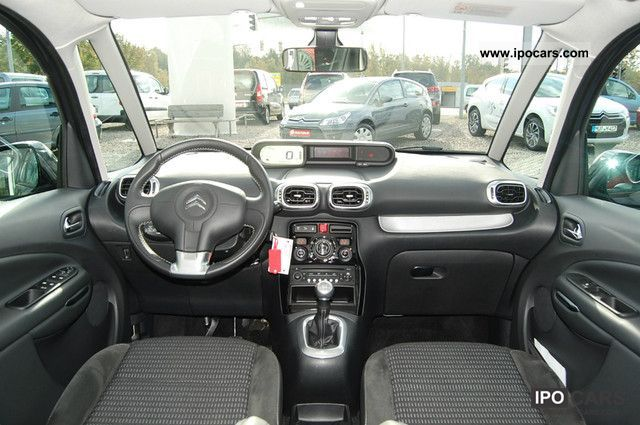 2010 citroen c3 picasso hdi 110 exclusive years car car photo and specs. Black Bedroom Furniture Sets. Home Design Ideas