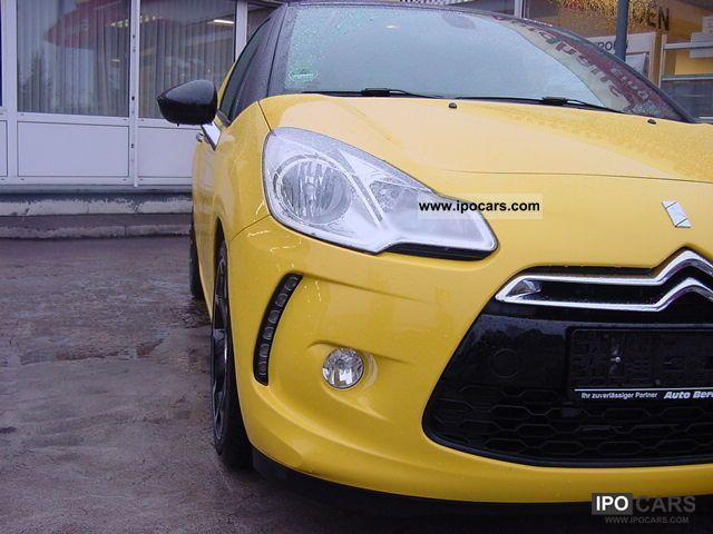 2010 citroen ds3 1 6 vti 120 sochic pdc klimaaut deep car photo and specs. Black Bedroom Furniture Sets. Home Design Ideas