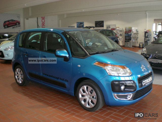 2012 citroen c3 picasso vti 120 inkl met tendance car photo and specs. Black Bedroom Furniture Sets. Home Design Ideas