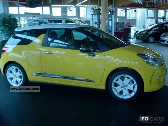 2011 citroen ds3 thp 150 sport chic car photo and specs. Black Bedroom Furniture Sets. Home Design Ideas