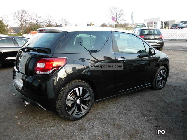 2011 citroen ds3 1 6 vti 120 sochic car photo and specs. Black Bedroom Furniture Sets. Home Design Ideas