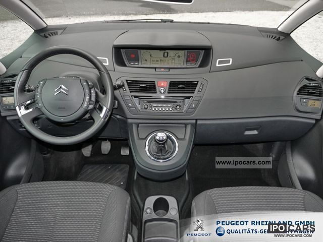 2010 Citroen Grand C4 Picasso 1 6 16v Air Parking Aid