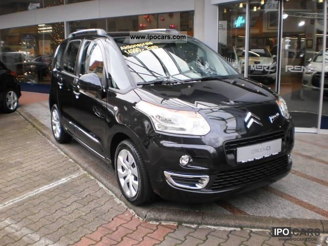 2011 citroen c3 picasso c3 picasso vti 120 exclusive car photo and specs. Black Bedroom Furniture Sets. Home Design Ideas