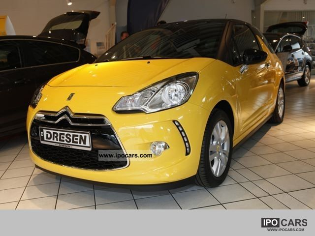 2011 citroen ds3 so chic vti 120 automatic climate control alloy wheels car photo and specs. Black Bedroom Furniture Sets. Home Design Ideas