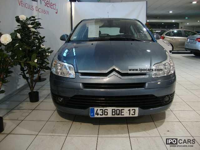 2008 citroen c4 hdi 110 fap sillage car photo and specs. Black Bedroom Furniture Sets. Home Design Ideas