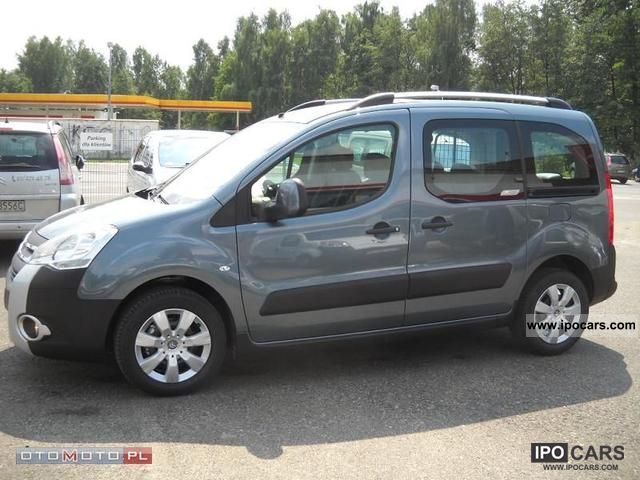 2011 citroen berlingo xtr 110 km okazja fabrycznie n car photo and specs. Black Bedroom Furniture Sets. Home Design Ideas