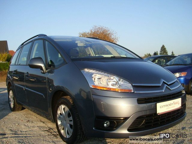 2008 citroen c4 gr pic hdi 110 tendance car photo and specs. Black Bedroom Furniture Sets. Home Design Ideas