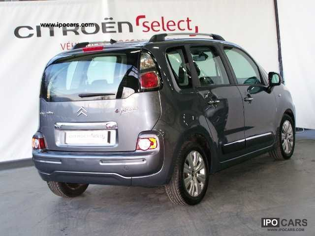 2009 citroen c3 picasso hdi 90 exclusive airdream car photo and specs. Black Bedroom Furniture Sets. Home Design Ideas