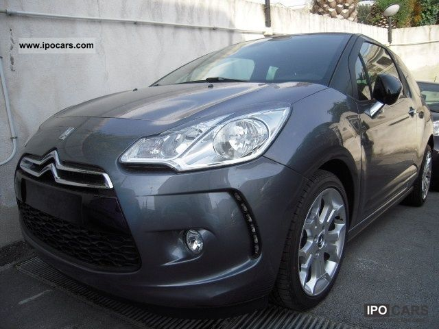 2011 citroen ds3 1 4 vti 95 cv chic nuovo car photo and specs. Black Bedroom Furniture Sets. Home Design Ideas
