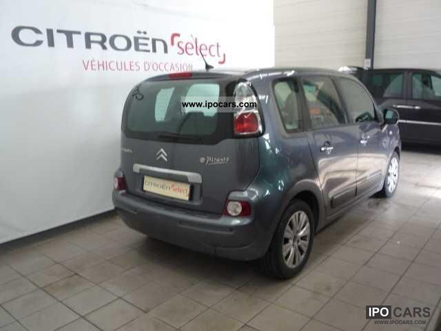 2009 citroen c3 picasso hdi 90 airdream exclusive car photo and specs. Black Bedroom Furniture Sets. Home Design Ideas