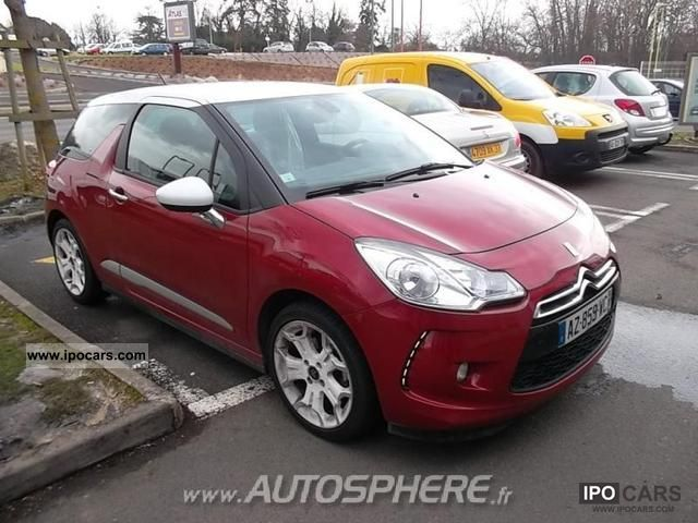 2010 citroen ds3 1 6 vti so chic car photo and specs. Black Bedroom Furniture Sets. Home Design Ideas