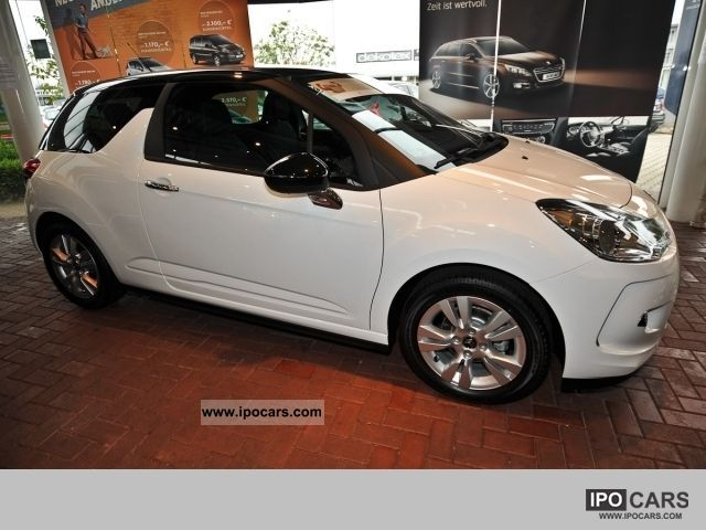2011 citroen ds3 so chic vti120 package selection car. Black Bedroom Furniture Sets. Home Design Ideas