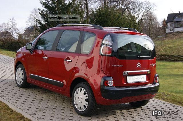2012 citroen c3 picasso selection vti120 car photo and specs. Black Bedroom Furniture Sets. Home Design Ideas