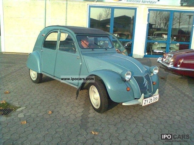 Citroen  2CV 0.4 1960 Vintage, Classic and Old Cars photo