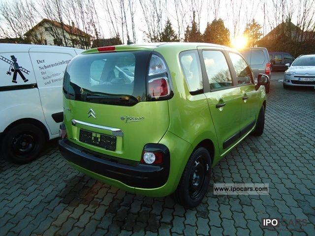 2012 citroen c3 picasso hdi 90 fap tendance climate control car photo and specs. Black Bedroom Furniture Sets. Home Design Ideas