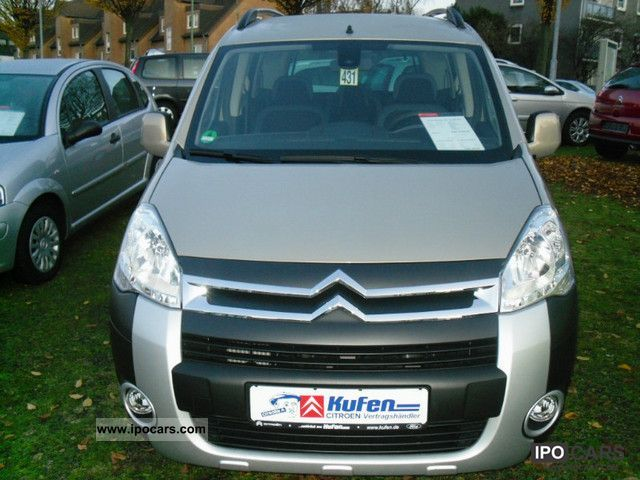 2010 citroen berlingo hdi 110 fap xtr comfort package car photo and specs. Black Bedroom Furniture Sets. Home Design Ideas