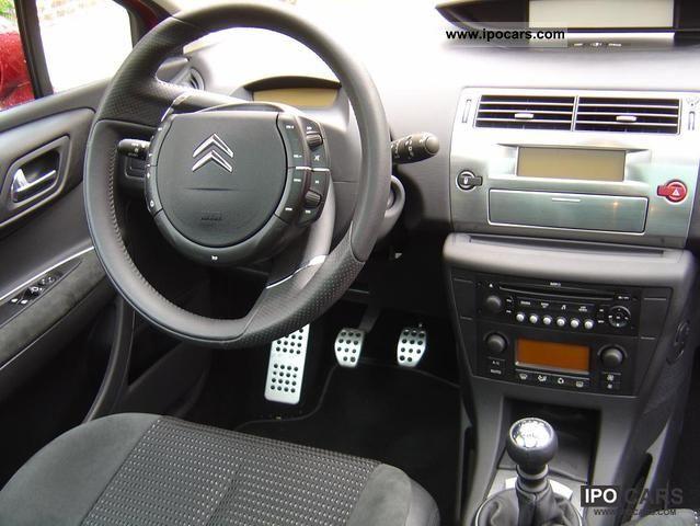 2007 Citroen C4 Vts Hdi 138 Car Photo And Specs