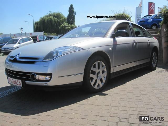 2007 citroen c6 v6 hdi 205 biturbo fap auto navi car photo and specs. Black Bedroom Furniture Sets. Home Design Ideas