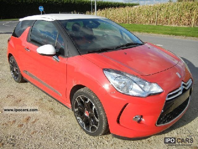 2011 citroen ds3 thp 16 sport chic car photo and specs. Black Bedroom Furniture Sets. Home Design Ideas