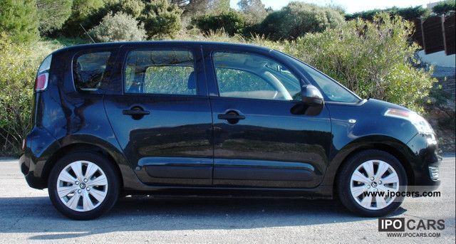 2009 citroen c3 picasso hdi 90 millenium gps car photo and specs. Black Bedroom Furniture Sets. Home Design Ideas