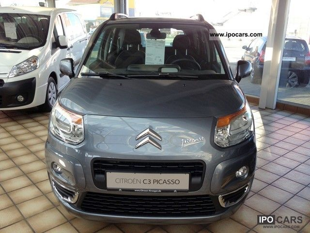 2012 citroen c3 picasso vti 120 exclusive car photo and specs. Black Bedroom Furniture Sets. Home Design Ideas