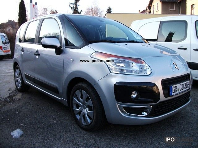 2012 citroen c3 picasso hdi 90 fap tendance car photo and specs. Black Bedroom Furniture Sets. Home Design Ideas
