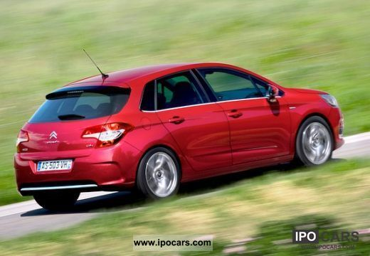 2011 citroen c4 vti 120 exclusive car photo and specs. Black Bedroom Furniture Sets. Home Design Ideas