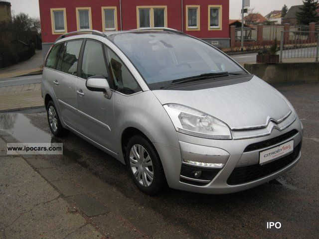 2011 citroen grand c4 picasso hdi tendance 110 car. Black Bedroom Furniture Sets. Home Design Ideas