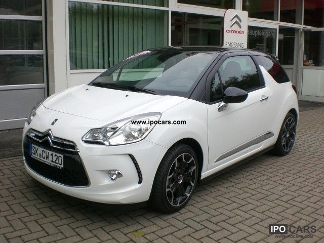 2011 citroen ds3 thp 150 sport sedan chic car photo and specs. Black Bedroom Furniture Sets. Home Design Ideas