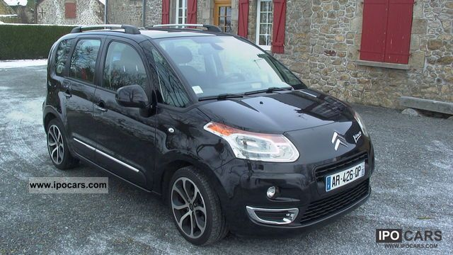 2010 citroen c3 picasso 1 6hdi 90ch exclusive black pack. Black Bedroom Furniture Sets. Home Design Ideas