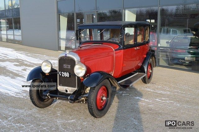 Citroen  C6 2.4 E 1929 Vintage, Classic and Old Cars photo