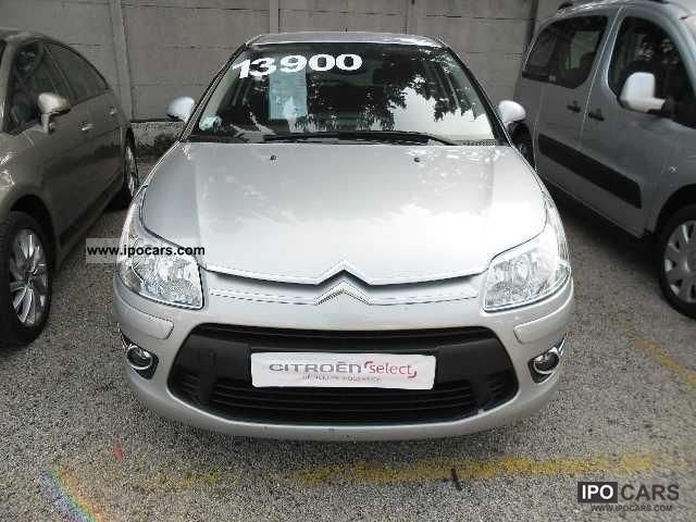 2008 citroen c4 hdi 110 fap airdream pack ambiance car photo and specs. Black Bedroom Furniture Sets. Home Design Ideas