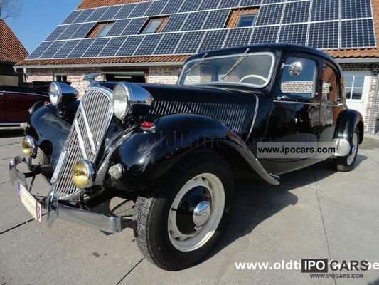 Citroen  Traction 11bn noire 1948 Vintage, Classic and Old Cars photo