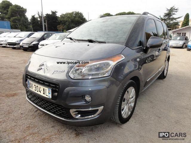 2010 citroen c3 picasso hdi 90 exclusive car photo and specs. Black Bedroom Furniture Sets. Home Design Ideas