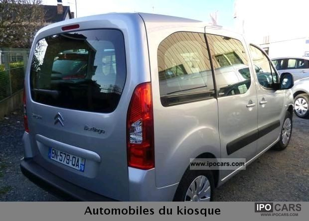 2011 citroen berlingo ii 1 6 hdi 92 fap multispace car photo and specs. Black Bedroom Furniture Sets. Home Design Ideas