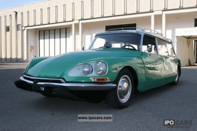 Citroen  DS 20 BREAK 1974 Vintage, Classic and Old Cars photo